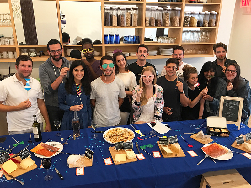 Wine & Cheese Day at Blockchain